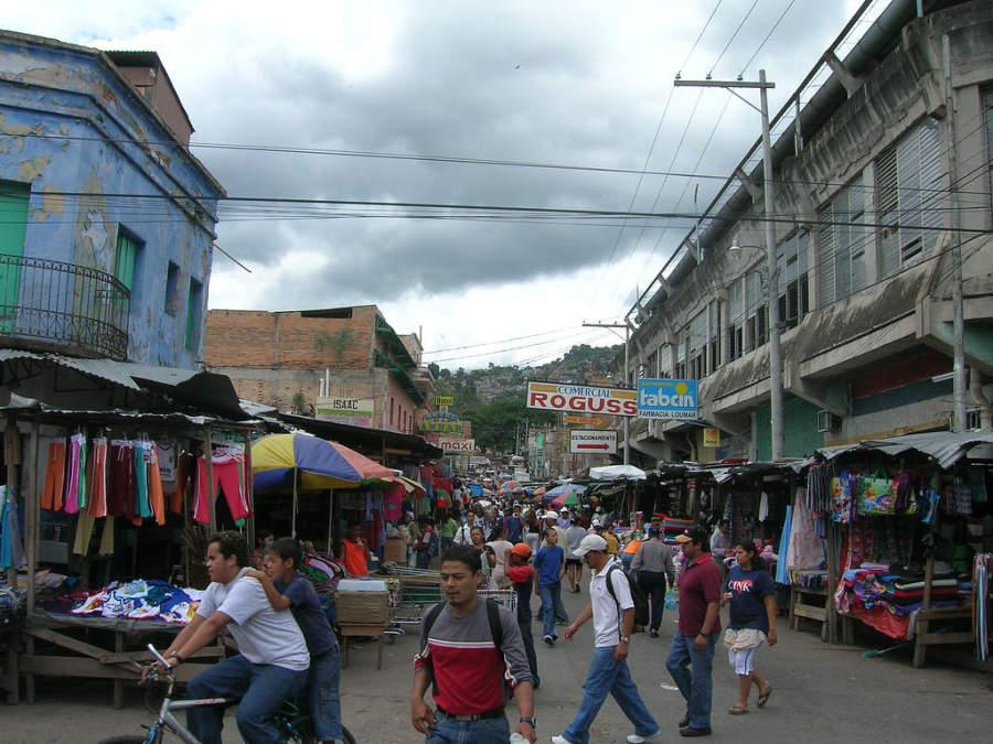 Encontrarás múltiples productos en los mercados de Tegucigalpa