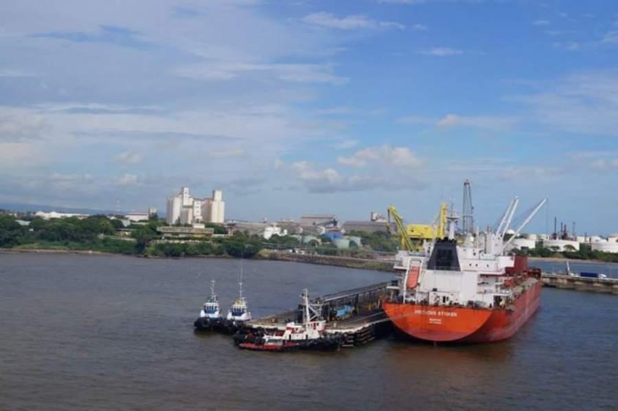 Puerto marítimo de Acajutla