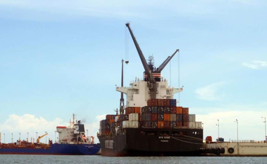 Muelle industrial del puerto marítimo de Acajutla