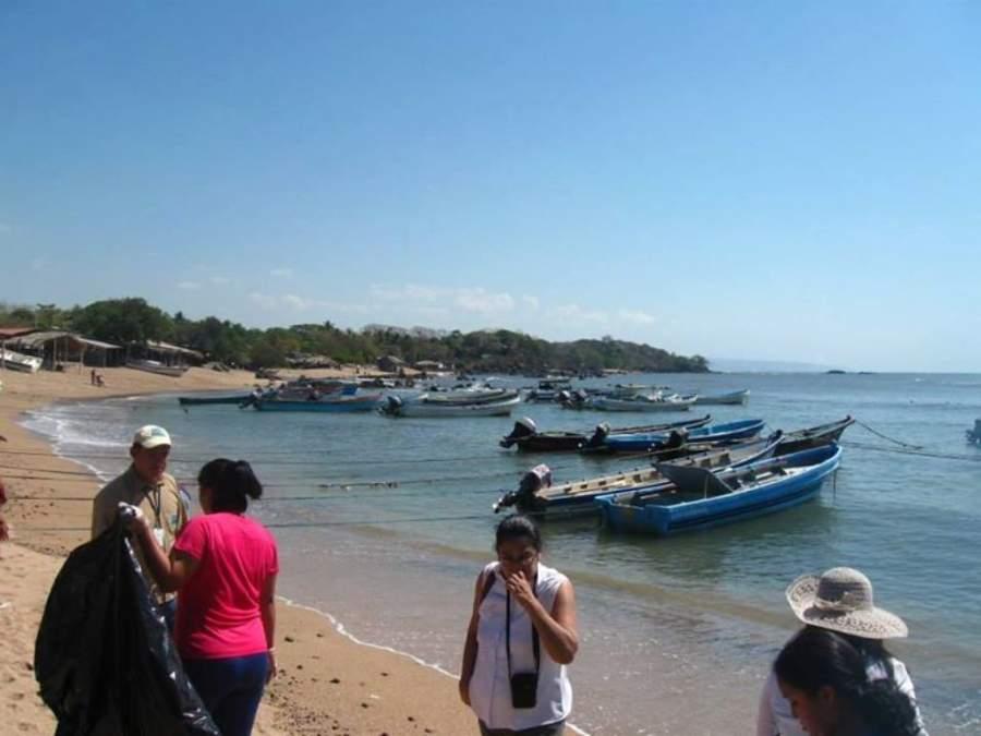 Playa Los Cóbanos en Acajutla