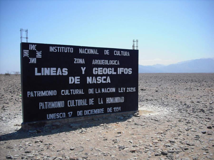 La principal atracción del área son las Líneas de Nazca