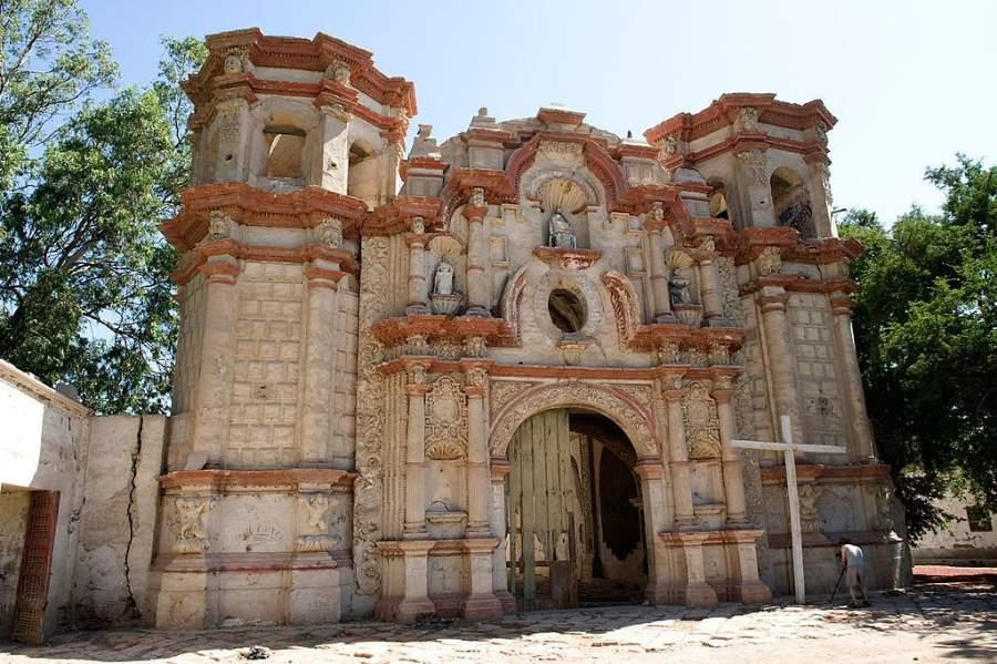 Iglesia jesuita de San Javier en la ciudad de Nazca