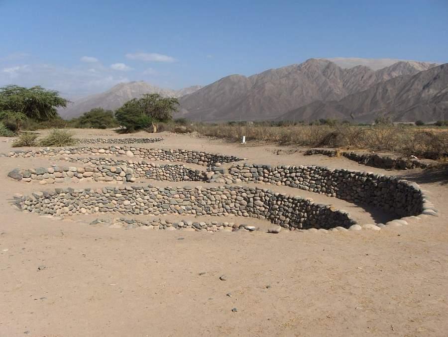 Acueductos de Cantalloc, a 4 kilómetros de Nazca
