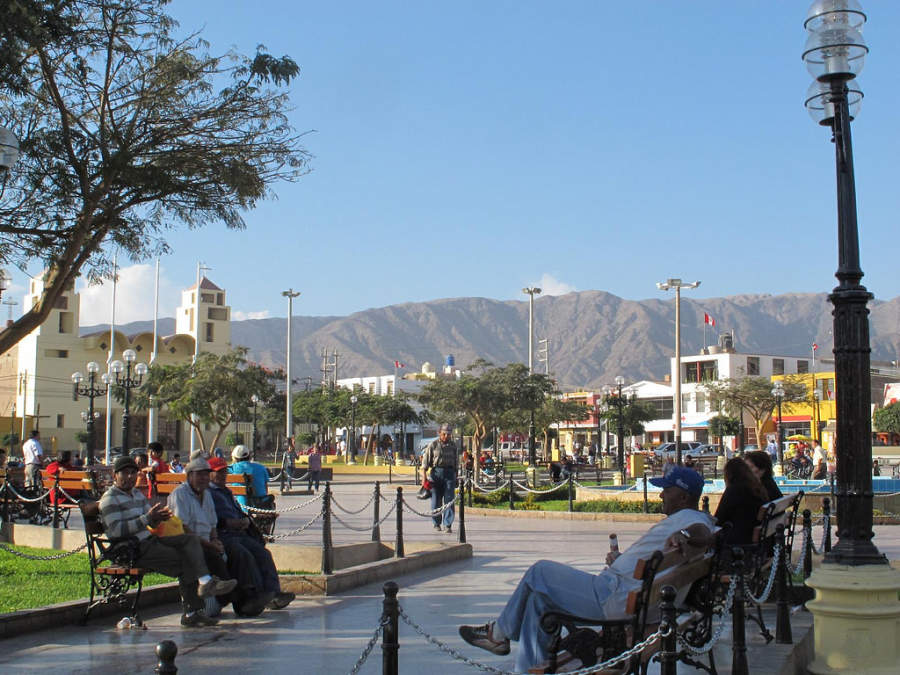 Nazca es una de las ciudades más cosmopolitas del sur de Perú