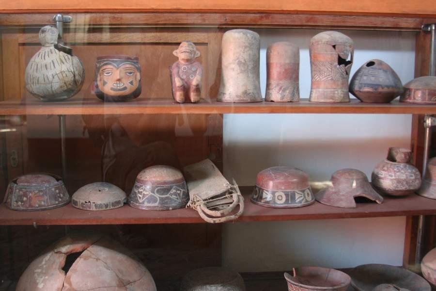 Interior del Museo María Reíche en Nazca