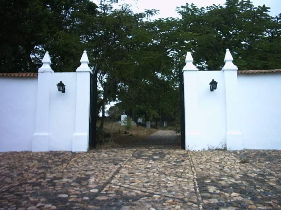 Entrada al Fortín Zamuro en Ciudad Bolívar