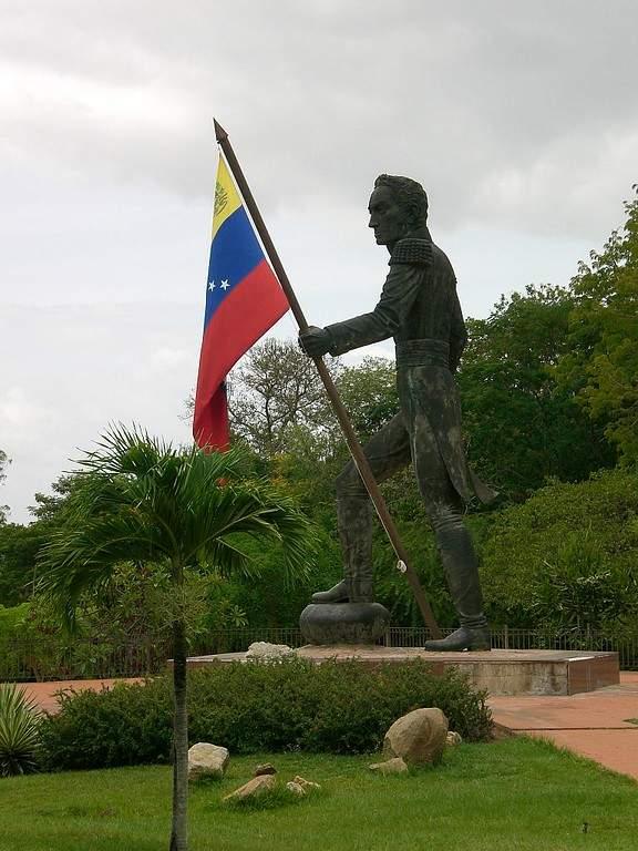 Monumento a Simón Bolívar en Ciudad Bolívar
