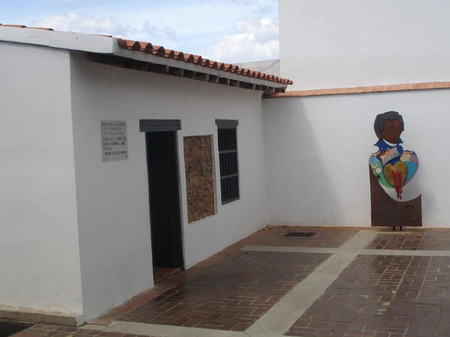 Interior del Museo Piar en Ciudad Bolívar