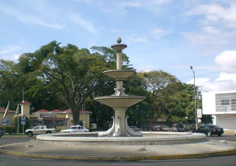 Fuente Luminosa en Ciudad Bolívar