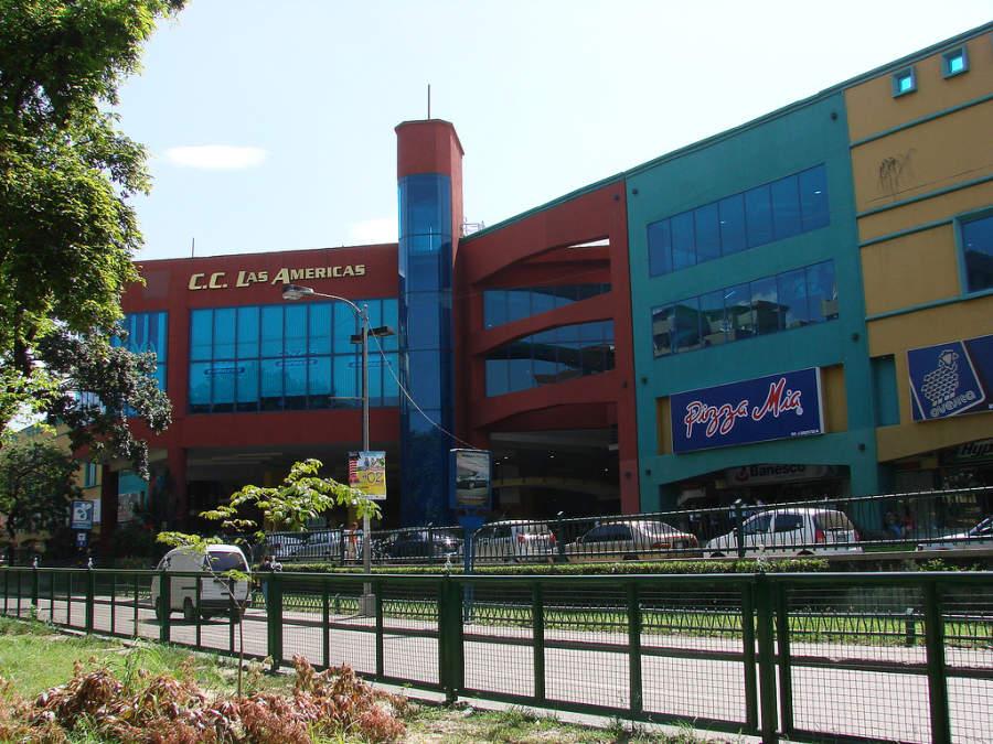 Centro comercial Las Américas en Maracay