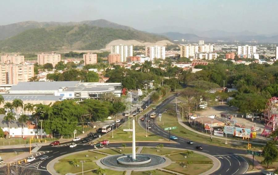 Vista panorámica de la ciudad de Maracay