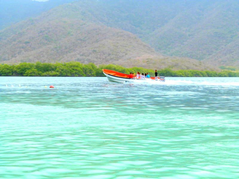 La Cienaga es una bahía cercana a Maracay