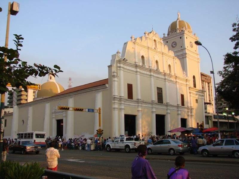 Catedral de Maracay en el centro histórico