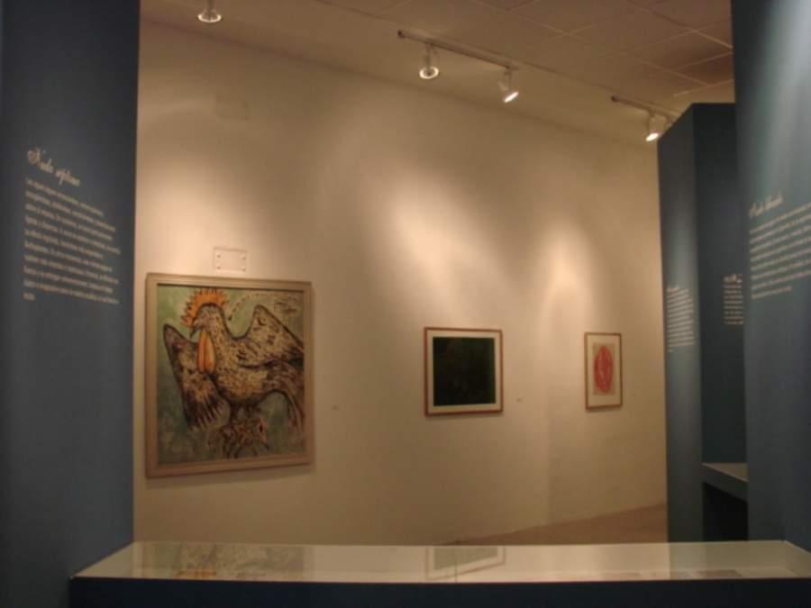 Interior del Museo de Arte Contemporáneo Mario Abreu