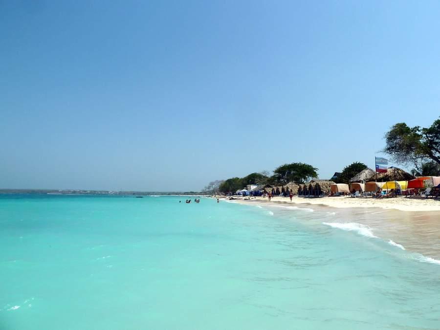 Playa Blanca es la playa más extensa en Isla Barú