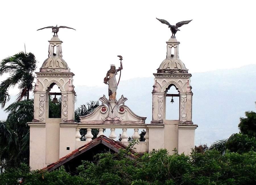Frontis del Antiguo Hospital Vargas