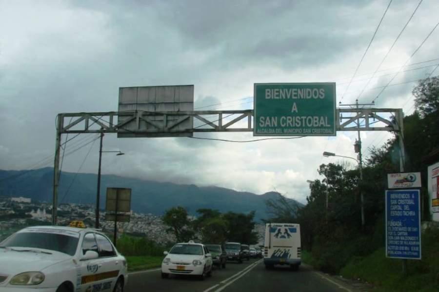 San Cristóbal la capital del municipio homónimo y del estado Táchira