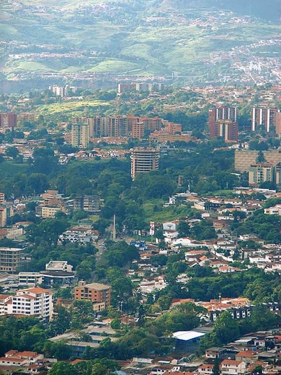 Vista panorámica de San Cristóbal