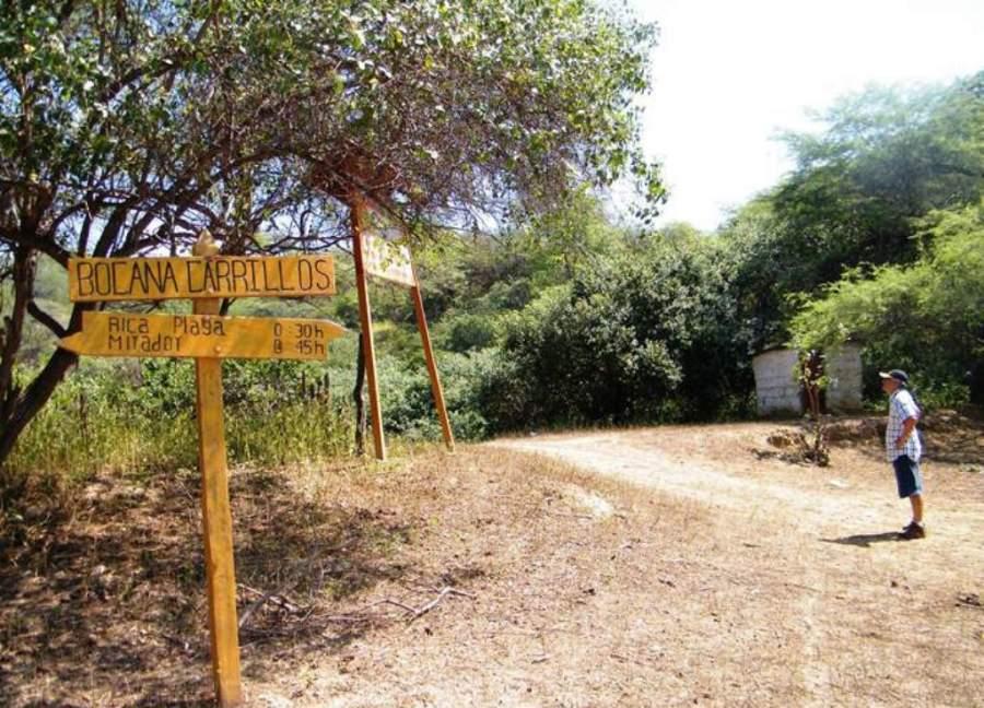 Camino a Bocana Carrillos, un mirador natural en Tumbes