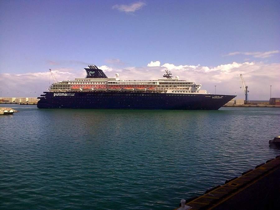 Crucero en el puerto de La Guaira, Venezuela