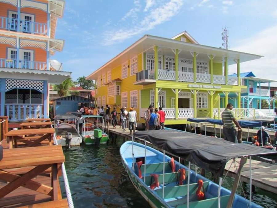 Bocas del Toro es una ciudad colorida de estilo caribeño