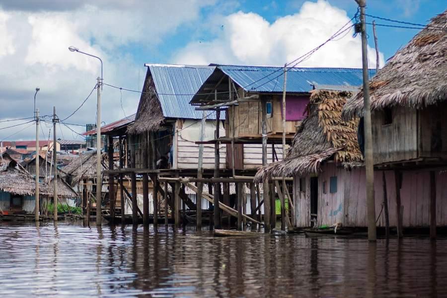 El barrio de Belén es conocido como La Venecia Amazónica