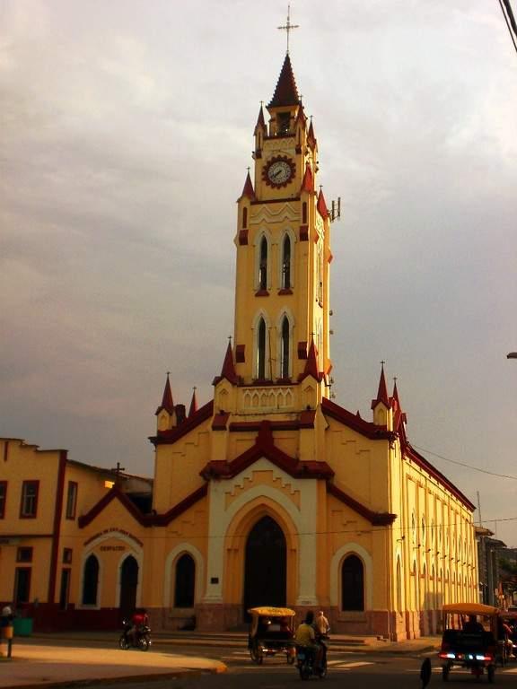 La Catedral de Iquitos está construida en estilo neogótico