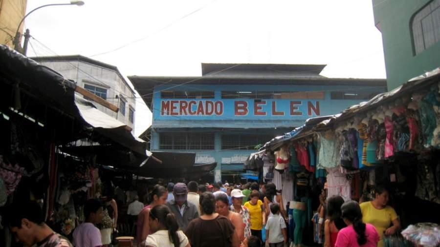 El Mercado de Belén tiene una extensión de 1,500 m²
