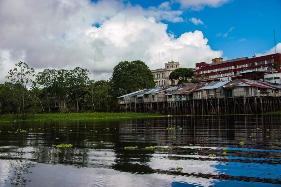 El barrio de Belén se ubica a orillas del río Itaya