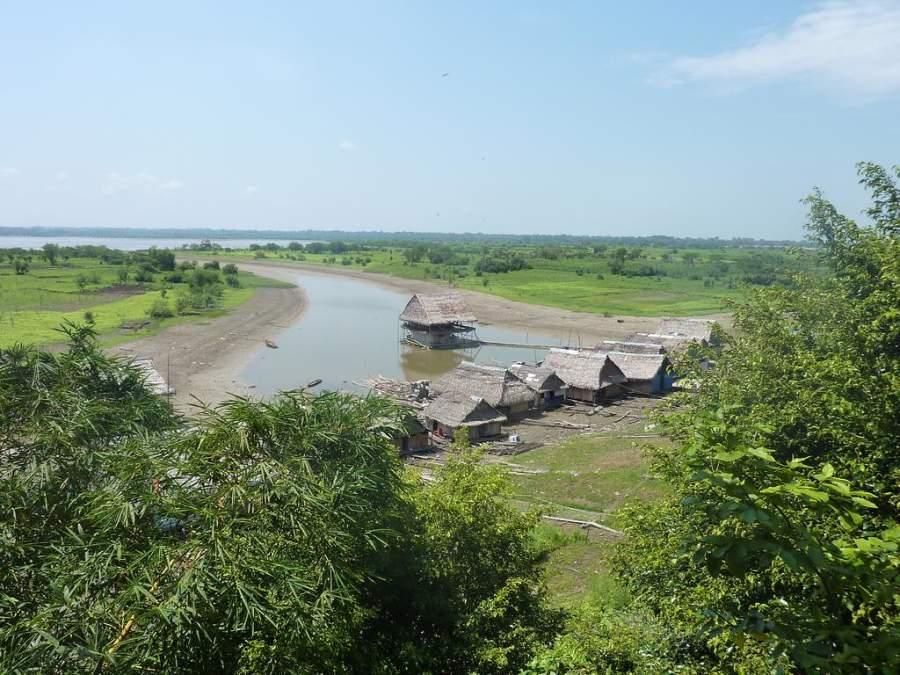 Iquitos se ubica en las orillas del río Amazonas