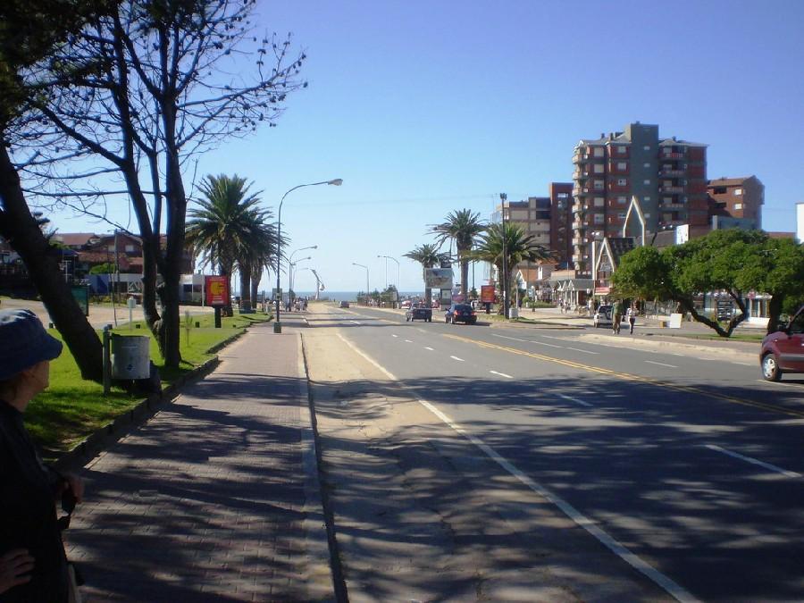 Avenida Bunge en Pinamar