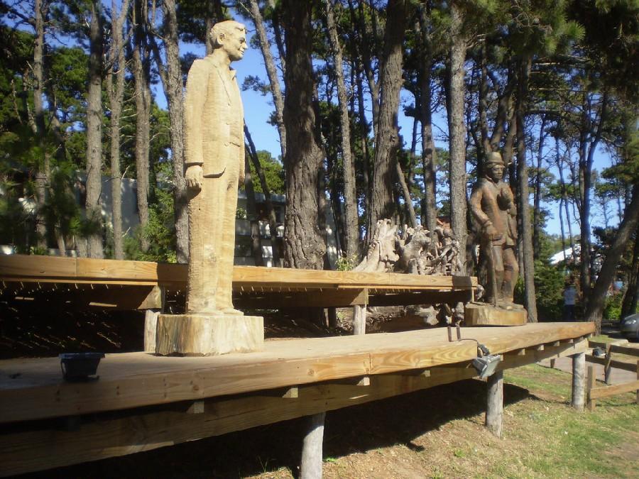 Esculturas en Av Bunge