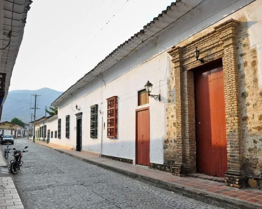 Calle de la Amargura en la ciudad de Santa Fe de Antioquia