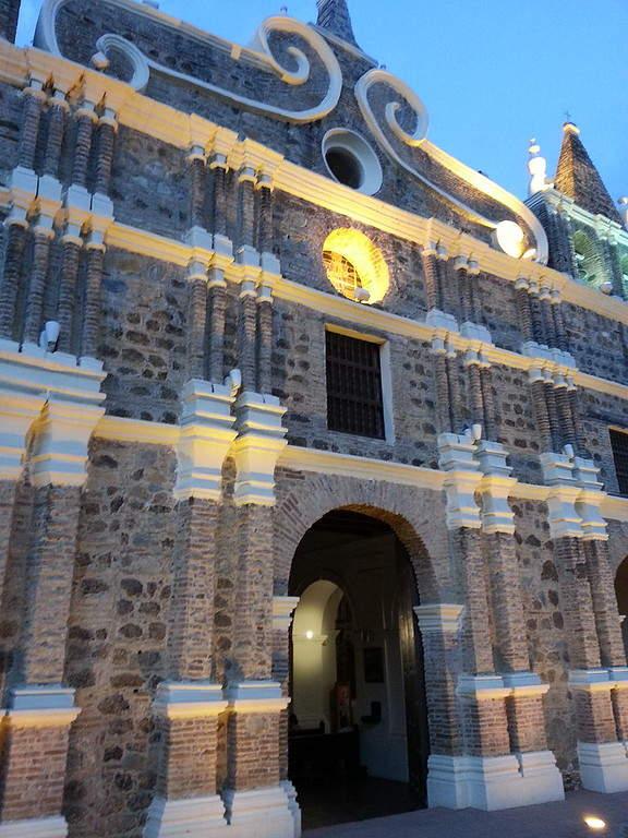 Iglesia de Santa Bárbara en Santa Fe de Antioquia