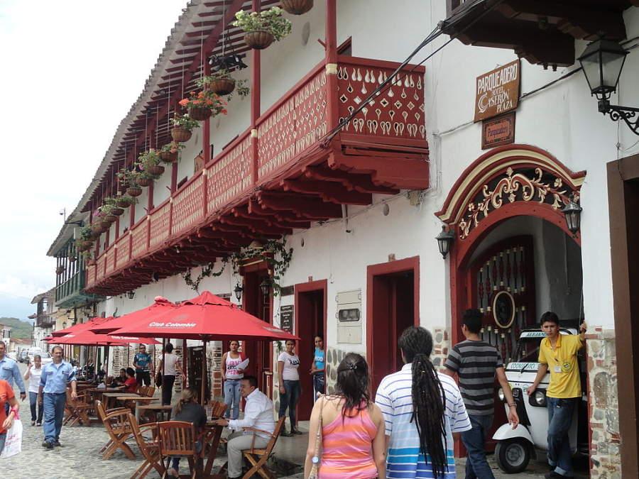 Parte antigua de la ciudad de Santa Fe de Antioquia