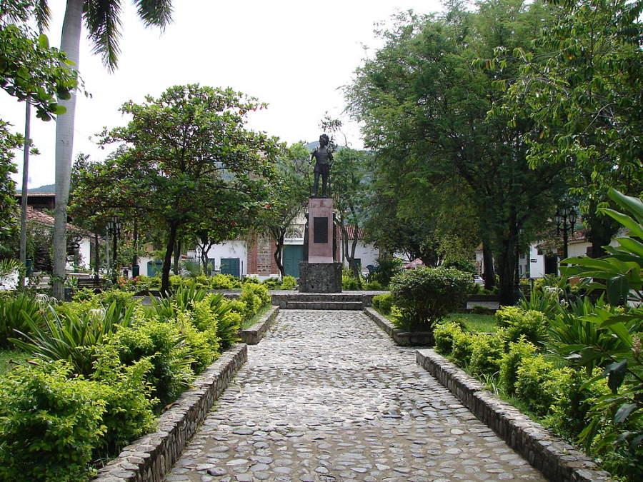 Parque La Chinca en Santa Fe de Antioquia