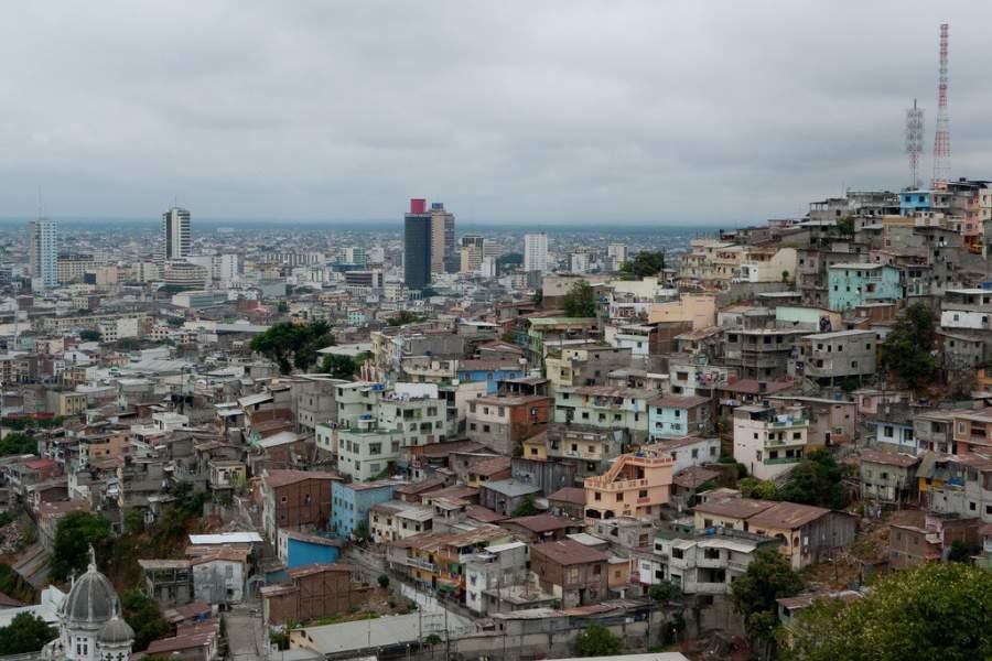 Paisaje urbano de Santiago de Guayaquil