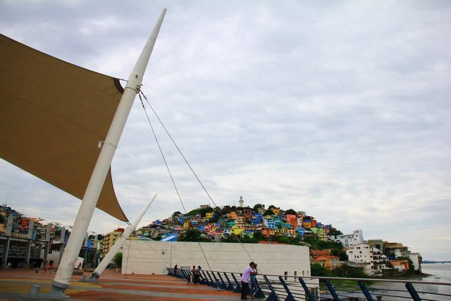 Cerro Santa Ana en Santiago de Guayaquil