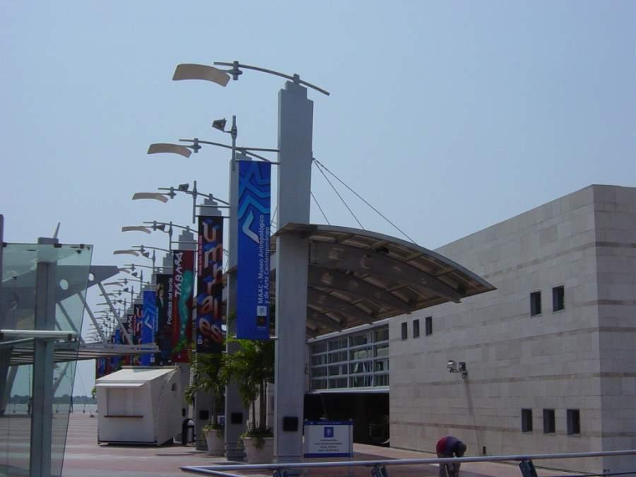 Museo Antropológico y de Arte Contemporáneo en Guayaquil