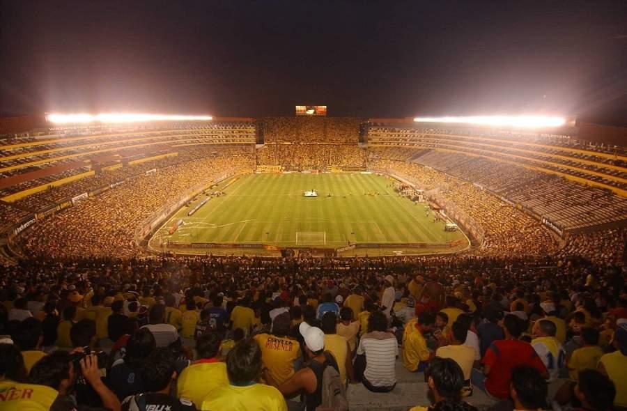 Estadio Monumental Isidro Romero Carbo en Guayaquil