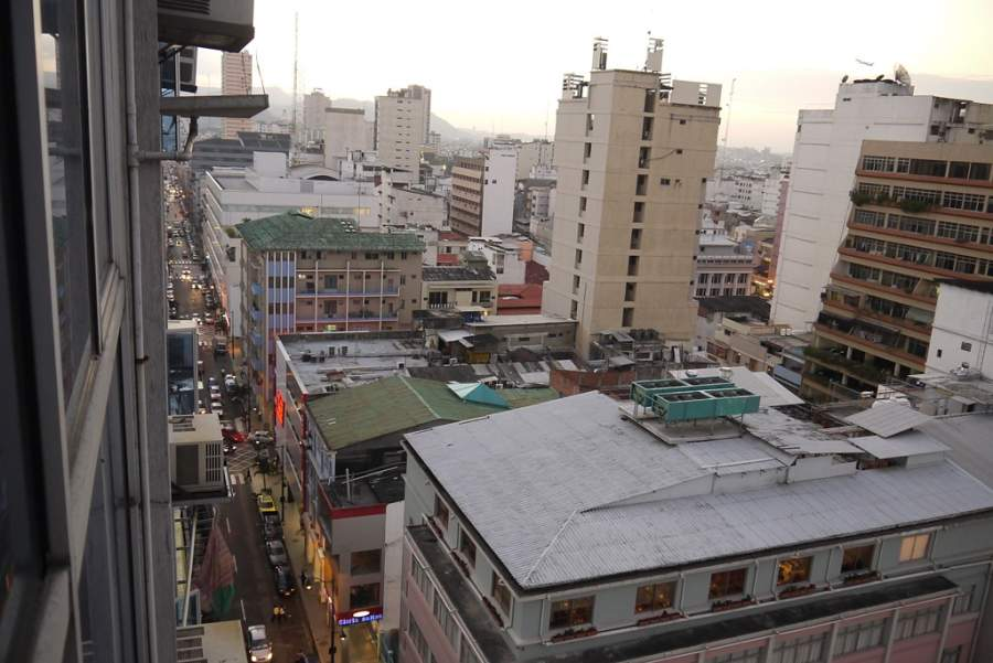 Edificios en el centro de la ciudad de Guayaquil