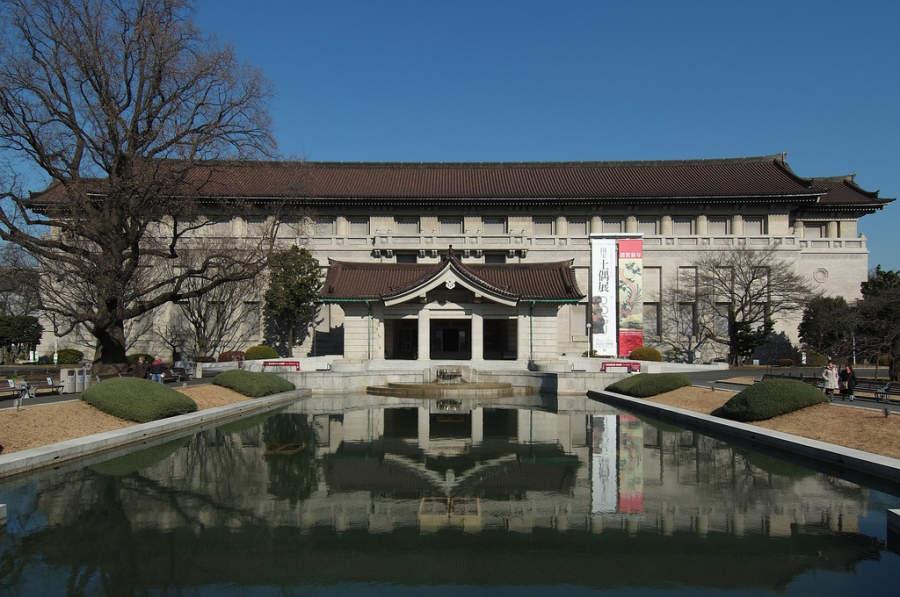 El Museo Nacional de Tokio es el más grande y antiguo de Japón