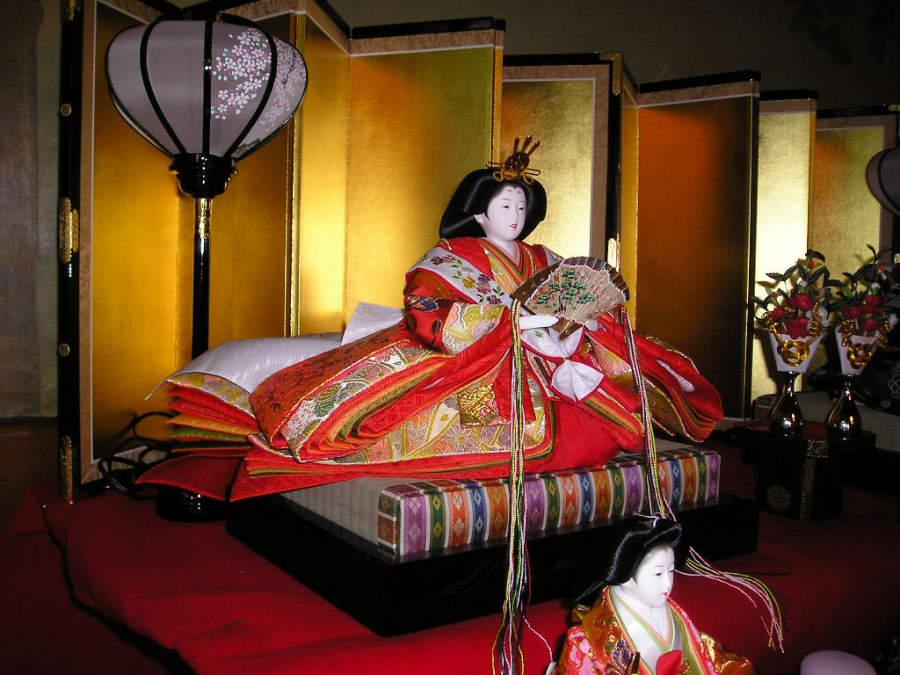 Hinamatsuri es el Festival de las Muñecas dedicado a las niñas en Japón