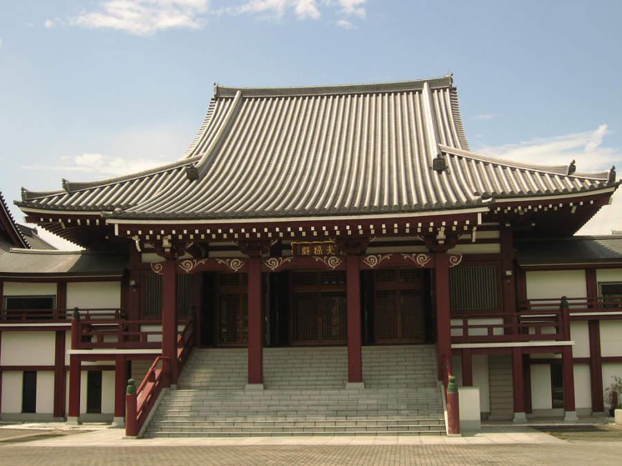 Templo en el Parque Shiba en Tokio