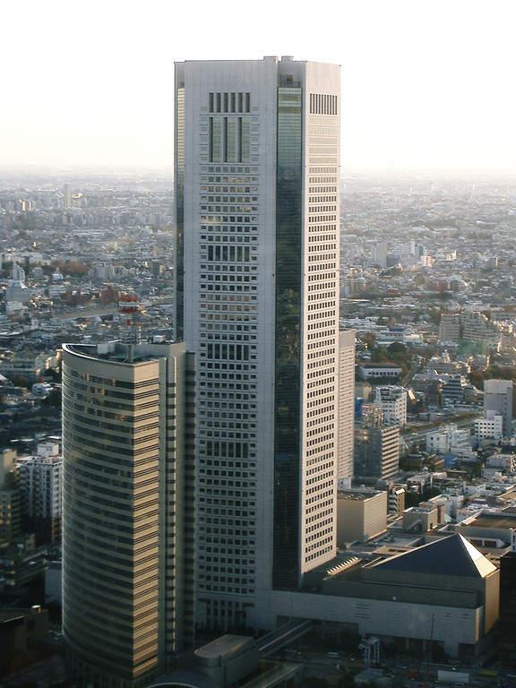 Rascacielos Ciudad de la Ópera en Tokio
