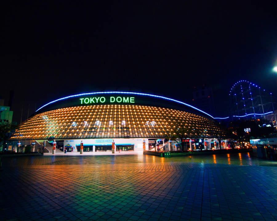 Tokyo Dome es un estadio donde se presentan numerosos eventos