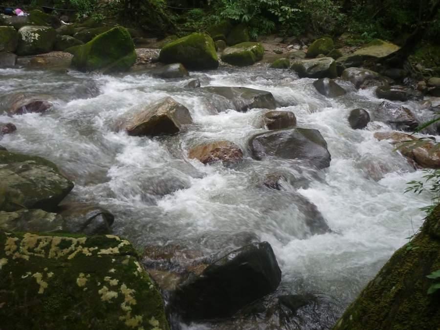 Río Minca, el principal afluente de la comunidad de Minca