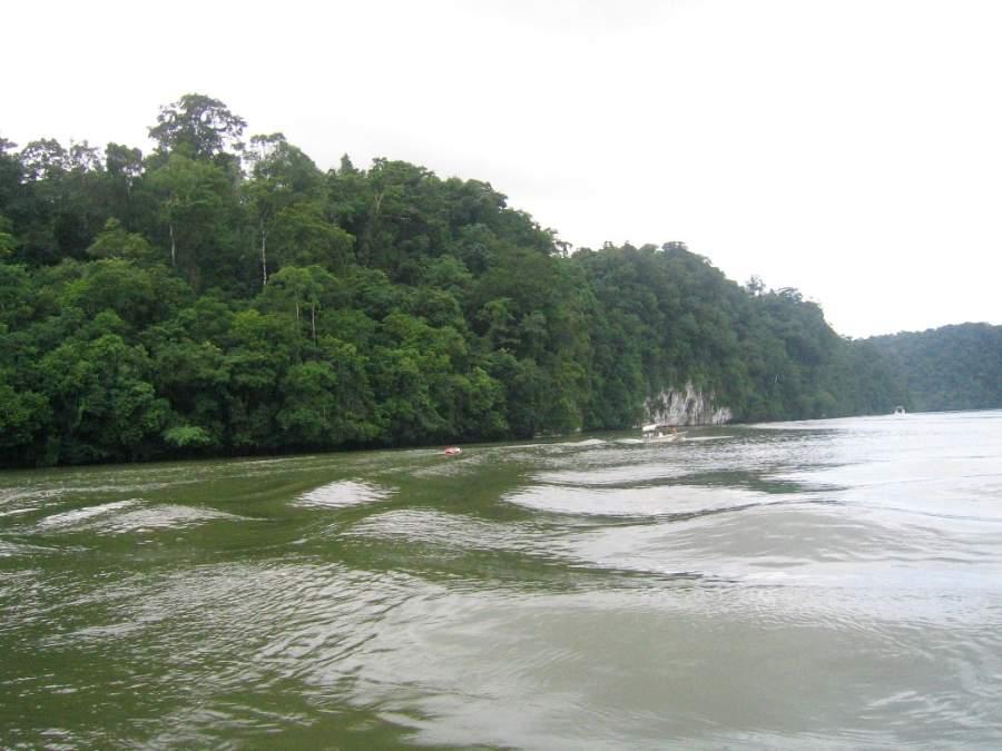 Parque Nacional Río Dulce cerca de Santo Tomás de Castilla