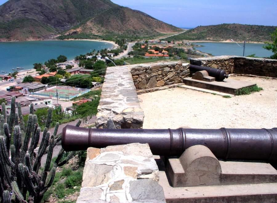 El Fortín de La Galera es uno de los principales atractivos en Juan Griego