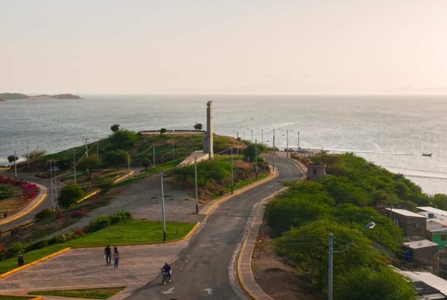 La ciudad de Juan Griego es famosa por sus vistas